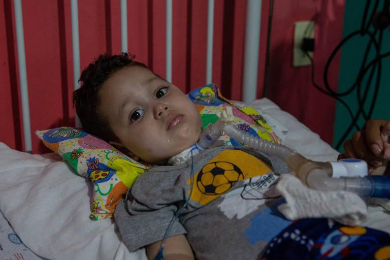 Na foto, Arthur Ferreira Belo, 1 ano e 11 meses