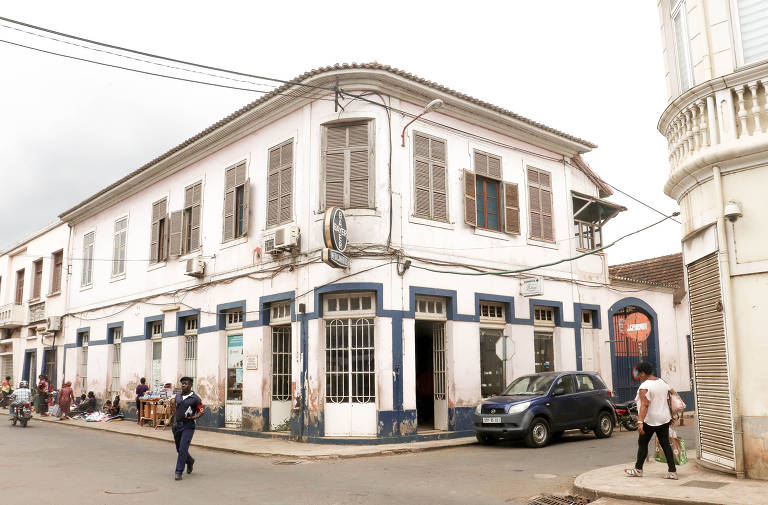 Arquitetura colonial na capital de São Tomé
