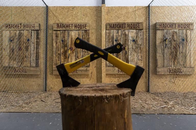 Veja fotos do Hatchet House Brasil