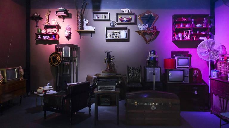 Boutique Vintage Brechó Bar mistura bar e loja em São Paulo