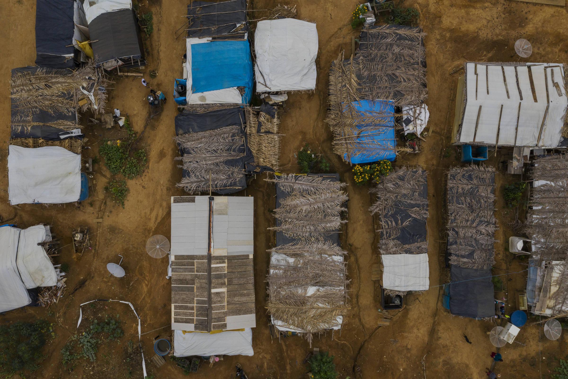 Acampamento Boa Esperança, na vila do Rio Pardo, em Rondônia