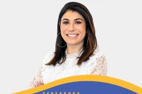 Janaina Cardoso, ex-mulher de Marcelo Álvaro Antônio e candidata a vereadora de Belo Horizonte