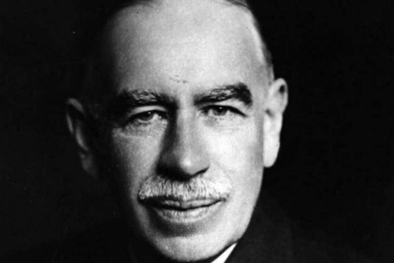 O economista britânico John Maynard Keynes, defensor da presença estatal na economia