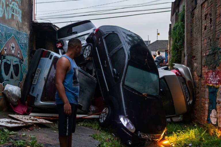 Chuva castiga São Paulo na terça-feira (20)