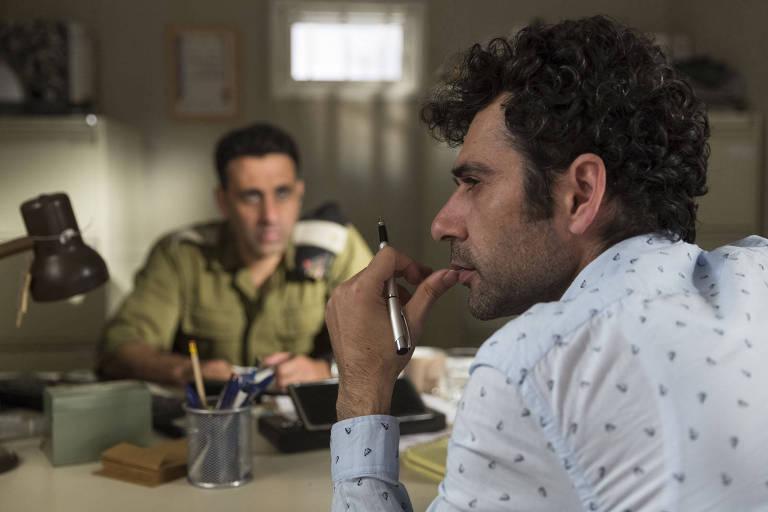 """Cena do filme """"Tel Aviv em Chamas"""" (2018), de Sameh Zoabi"""