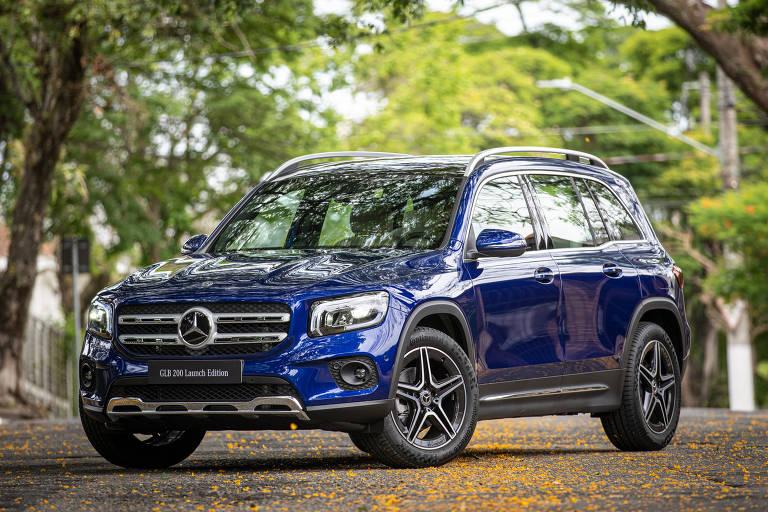 Mercedes traz o GLB em versão de lançamento