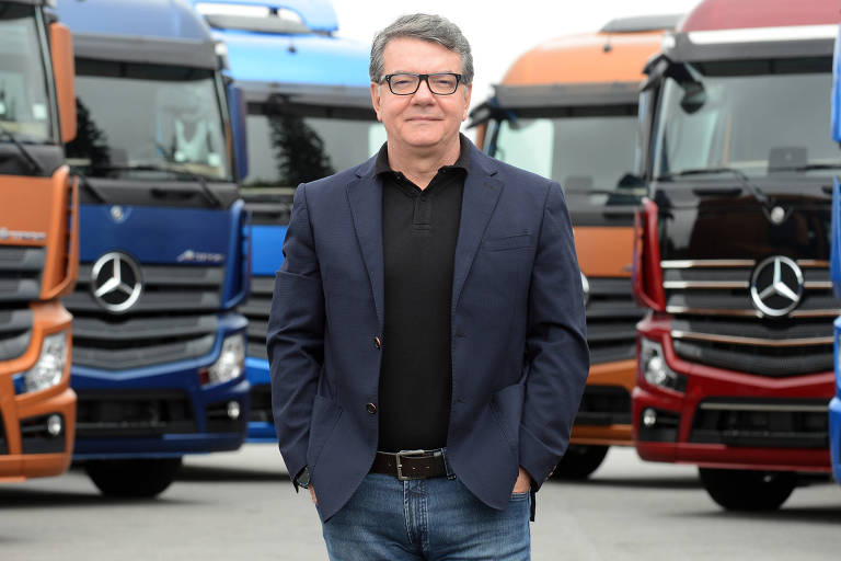 Roberto Leoncini, vice-presidente de vendas e marketing de caminhões e ônibus da Mercedes-Benz