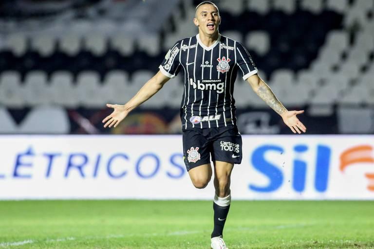 Corinthians marca no fim e reage com vitória sobre o Vasco