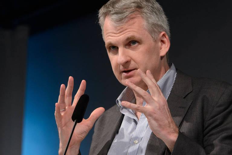 O historiador americano Timothy Snyder, professor de Yale