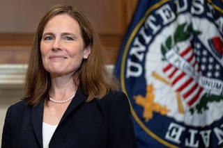 Barrett meets with U.S. senators ahead of vote on her nomination