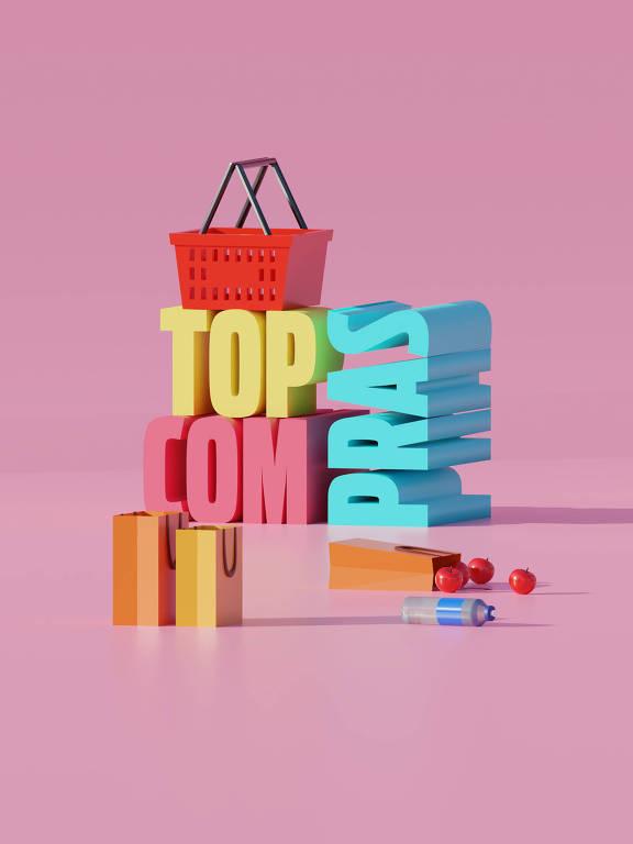 Ilustração da categoria Top Compras da 30ª Folha Top of Mind