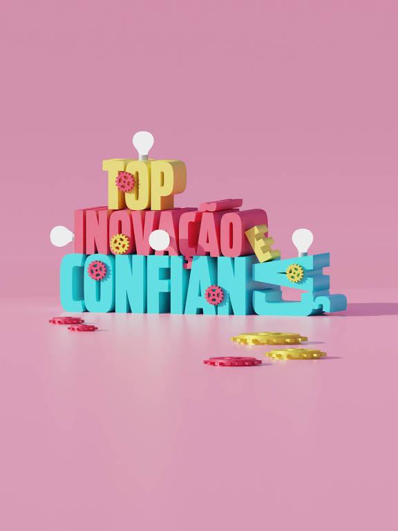 Ilustração das categorias Top Inovação e Top Confiança da 30ª Folha Top of Mind