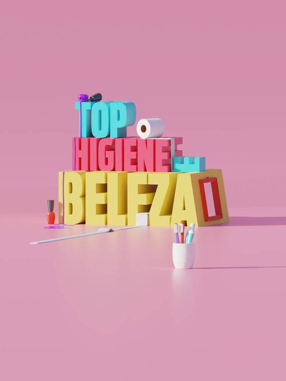 Ilustração da categoria Top Higiene e Beleza da 30ª Folha Top of Mind