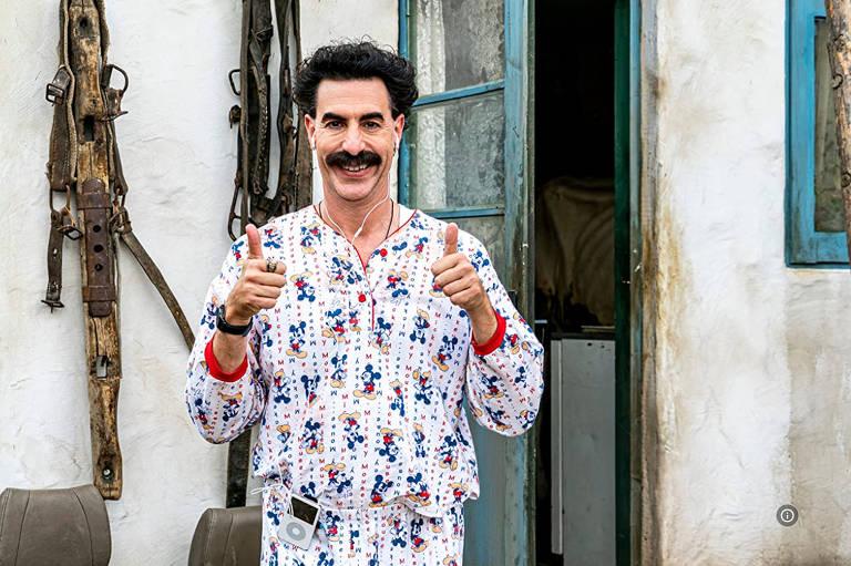 """Cena do filme """"'Borat: Fita de Cinema Seguinte"""""""