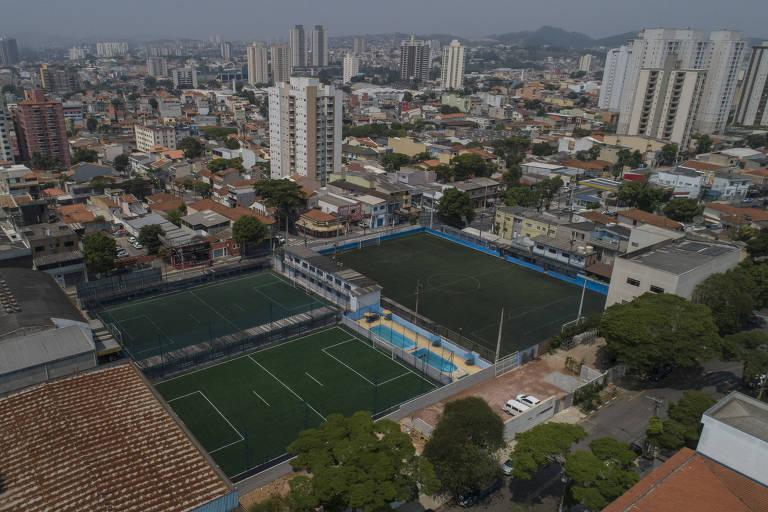 Corinthians Futebol Clube de Santo André, clube que sofreu o primeiro gol de Pelé, em 1956