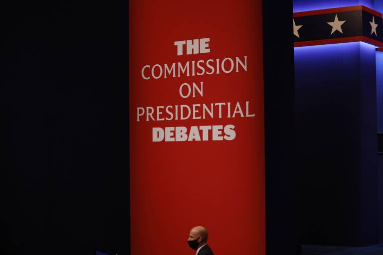 Trump e Biden fazem último debate antes da eleição; siga ao vivo
