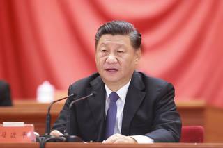 CHINA-BEIJING-XI JINPING-CHINESE PEOPLE'S VOLUNTEERS-COMMEMORATION-MEETING (CN)