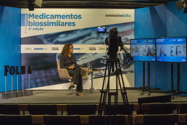 Veja fotos do webinário Medicamentos Biossimilares