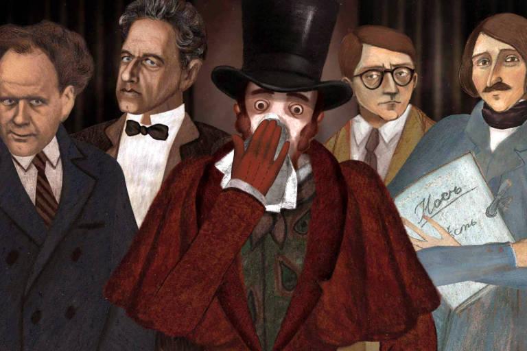 Veja cenas da animação 'O Nariz ou a Conspiração dos Dissidentes'