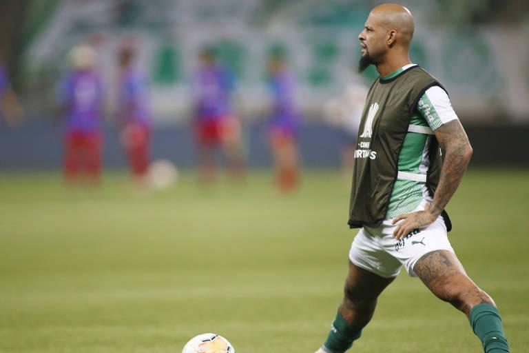 Bem na Libertadores, Palmeiras busca reação no Campeonato Brasileiro