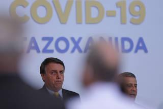 BOLSONARO / COVID-19 / CORONAVIRUS / NITAZOXANIDA