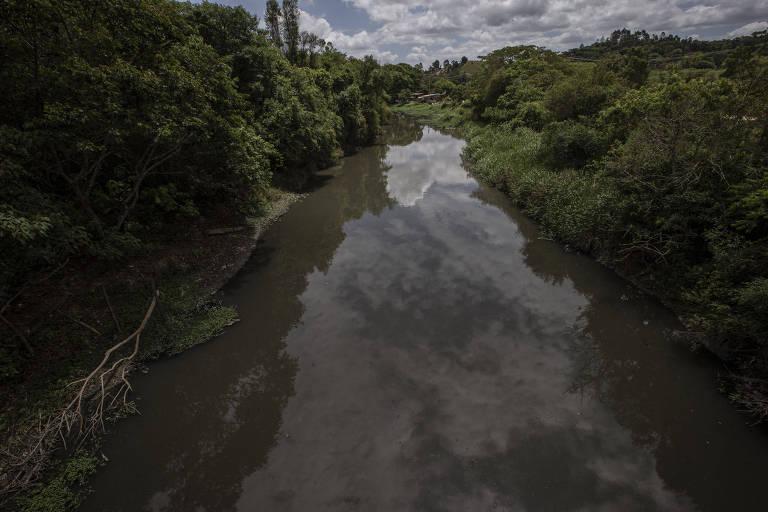 Rio Tietê registra aumento de água boa e diminuição da mancha de poluição