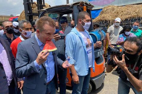Russomanno minimiza queda, mantém aposta em Bolsonaro e embates com 'Bruno-Doria'