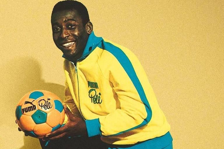 'Ninguém se compara a Pelé', publicou Neymar em homenagem ao rei