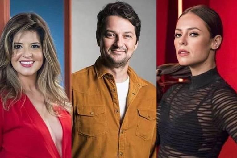 """Marcelo Serrado parceria com Paolla Oliveira e Mariana Santos em """"Cara e Coragem"""""""
