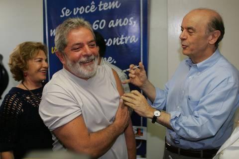 Governador de São Paulo já vacinou presidente da República
