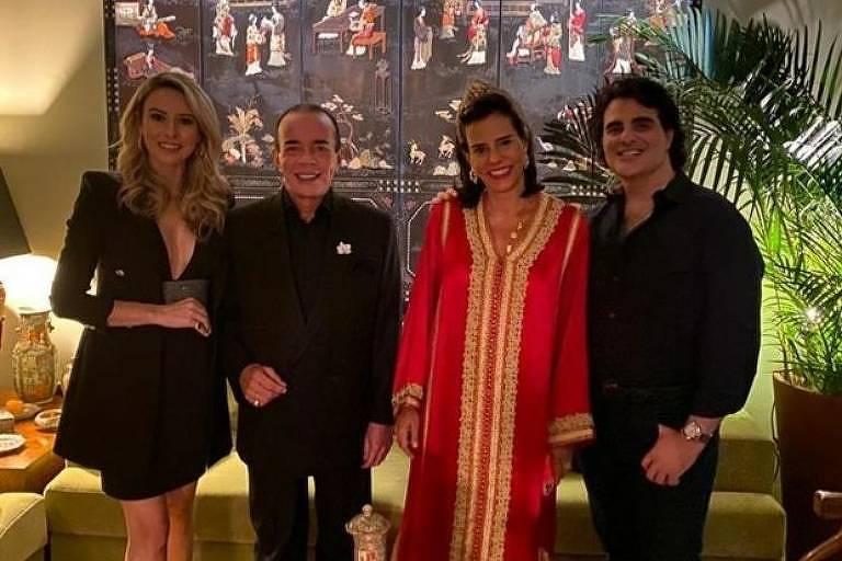 Luana Risério, Chiquinho Scarpa, Narcisa Tamborindeguy e Paulino Riskallah