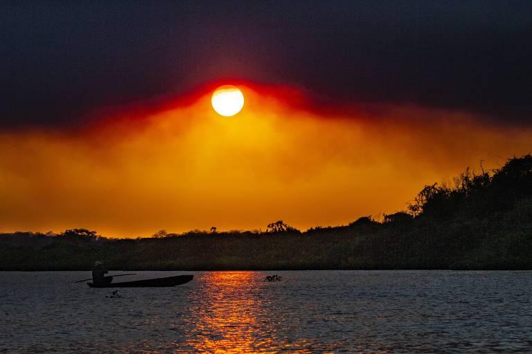 Fotógrafo lança livro com imagens do Pantanal antes do fogo