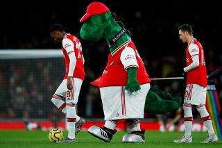 FILE PHOTO: Premier League - Arsenal v Brighton & Hove Albion