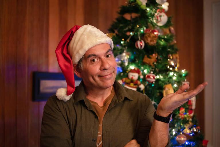 Jorge (Leandro Hassum), na nova comédia Tudo Bem no Natal que Vem