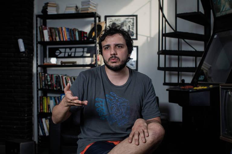 Renan Santos, líder e fundador do MBL