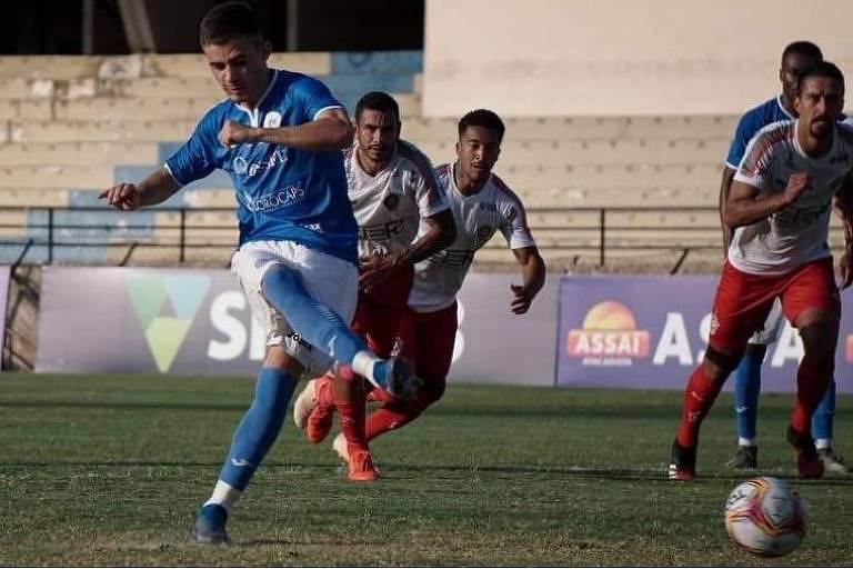 Laércio, do São Bento, é um dos jogadores infectados com Covid-19