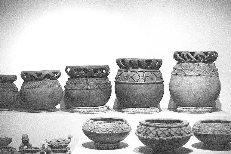 Veja algumas das peças africanas expostas no Museu Britânico