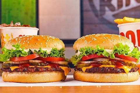 Sanduíches do Burger King