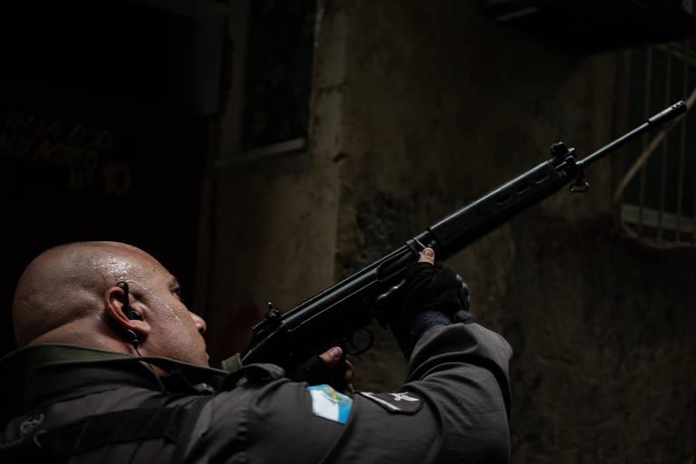 Operação policial na pandemia