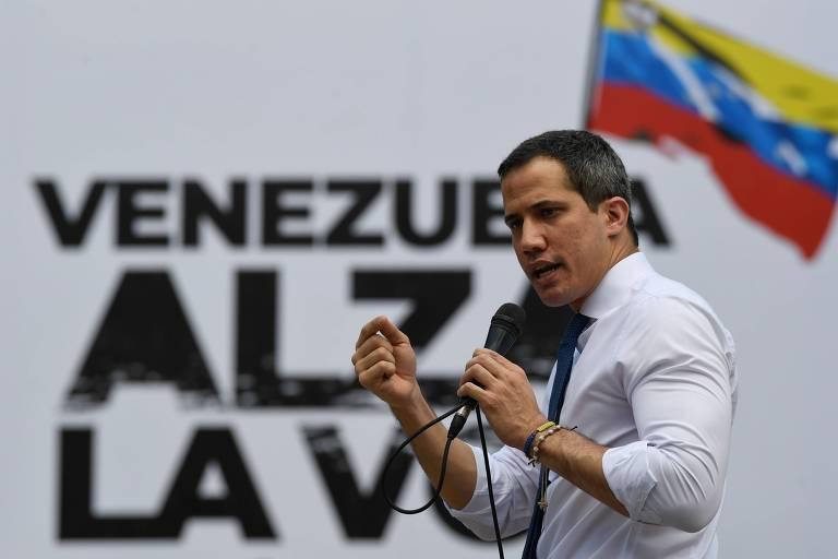 Juan Guaidó denuncia desaparecimento de jornalista na Venezuela