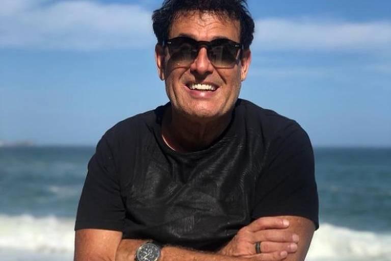 O apresentador Sérgio Mallandro em foto postada em seu Instagram