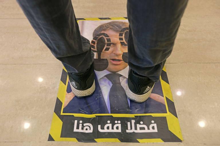 Protesto em países muçulmanos contra Macron
