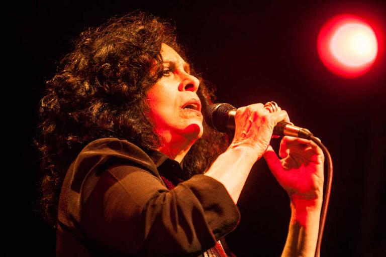 A cantora Gal Costa na Flip de 2014