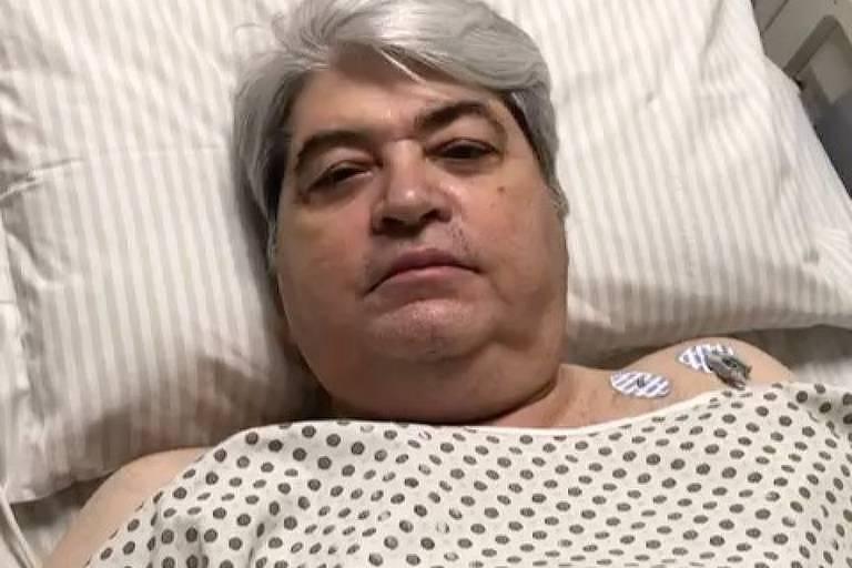 José Luiz Datena hospitalizado