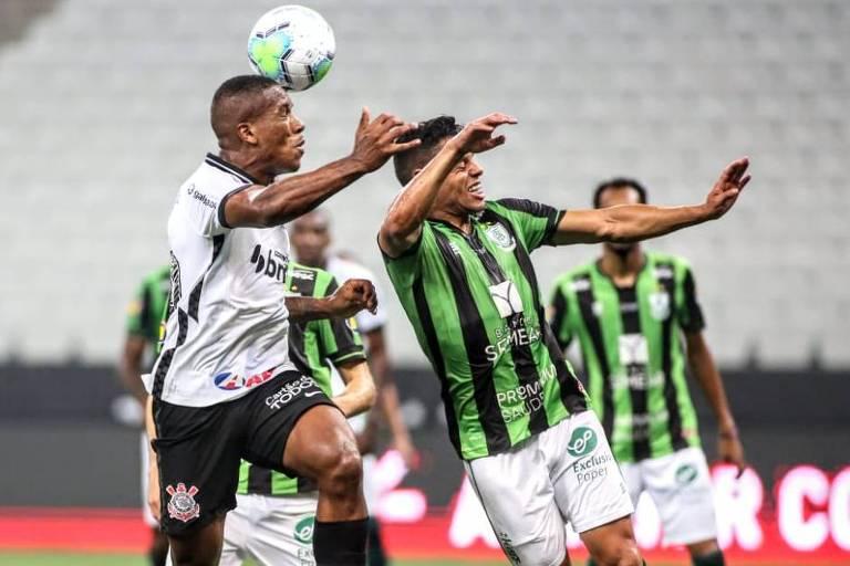Corinthians volta a jogar mal e é batido pelo América-MG na Copa do Brasil