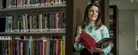 SÃO PAULO, SP, BRASIL, 21-10-2020, GUIA MBA  - Retrato de Marina Gatto Cavalcanti, 31. Ela Trocou um MBA no exterior por um programa no país. Começou em setembro o MBA Executivo do ISE Business School. (Foto: Keiny Andrade/Folhapress).