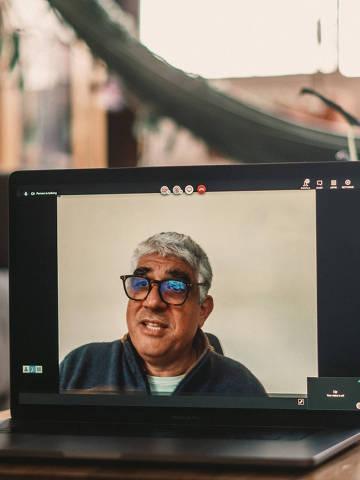São Paulo, SP, Brasil, 28-10-2020: entrevista em video com Fersen Lamas Lambranho, engenheiro e empresário brasileiro, sócio e presidente do conselho da GP Investments.(foto Gabriel Cabral/Folhapress)