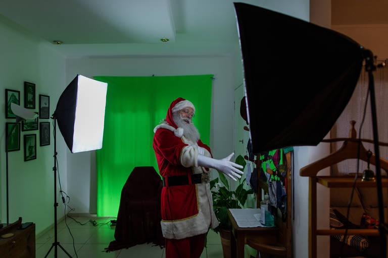 Veja como o Papai Noel usa a tecnologia para se conectar com o público