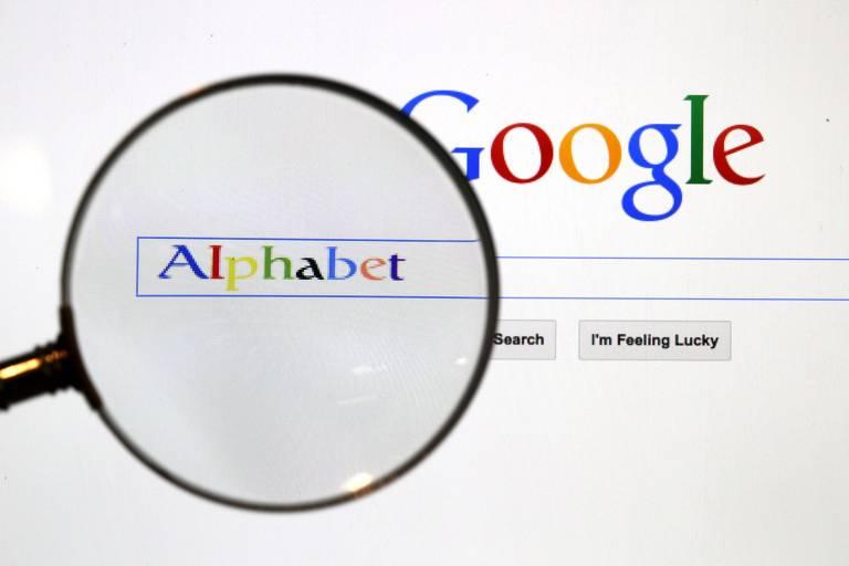Página de pesquisas do Google