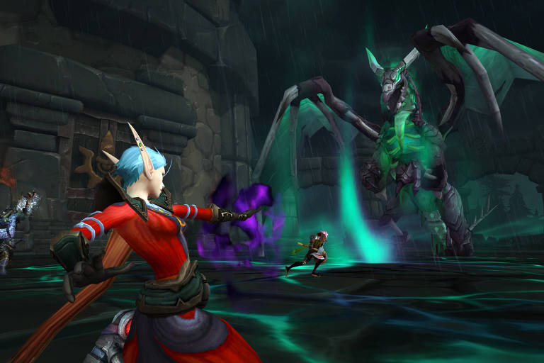 Cena de 'World of Warcraft: Shadowlands'